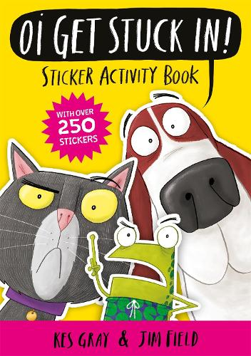 Oi Get Stuck In! Sticker Activity Book - Oi Frog and Friends (Paperback)