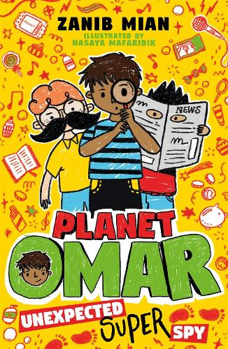 Planet Omar: Unexpected Super Spy: Book 2 - Planet Omar (Paperback)