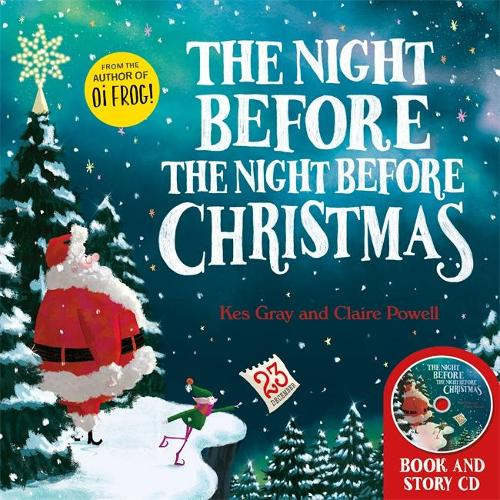 The Night Before the Night Before Christmas: Book and CD
