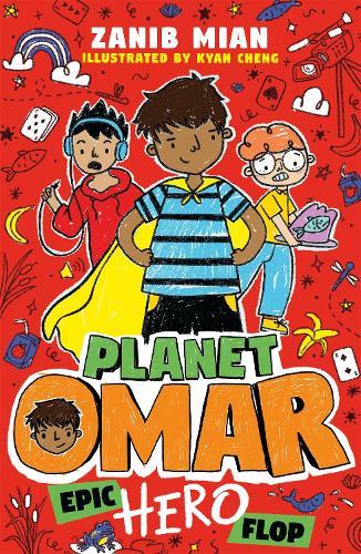 Planet Omar: Epic Hero Flop: Book 4 - Planet Omar (Paperback)
