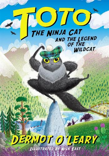 Toto the Ninja Cat and the Legend of the Wildcat: Book 5 - Toto (Hardback)