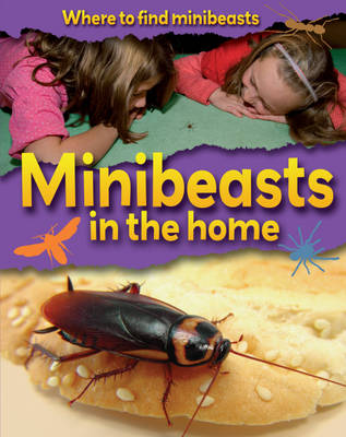 Minibeasts in the Home - Where to Find Minibeasts 9 (Paperback)
