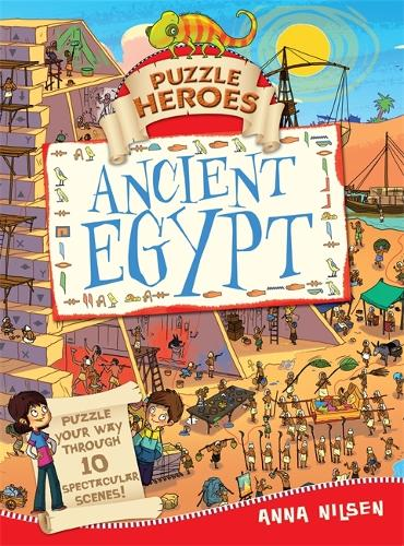 Puzzle Heroes: Ancient Egypt - Puzzle Heroes (Hardback)
