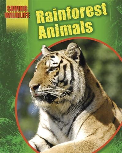 Saving Wildlife: Rainforest Animals - Saving Wildlife (Paperback)