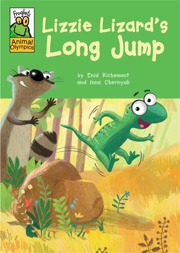 Froglets: Animal Olympics: Lizzie Lizard's Long Jump - Froglets: Animal Olympics (Hardback)
