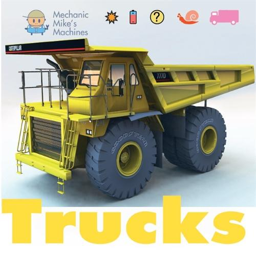 Mechanic Mike's Machines: Trucks - Mechanic Mike's Machines (Paperback)