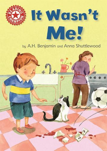 Reading Champion: It Wasn't Me!: Independent Reading Red 2 - Reading Champion (Paperback)