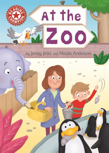 Reading Champion: At the Zoo: Independent Reading Red 2 - Reading Champion (Hardback)