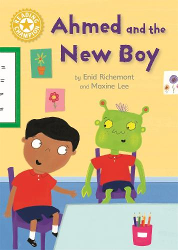 Reading Champion: Ahmed and the New Boy: Independent Reading Yellow 3 - Reading Champion (Hardback)