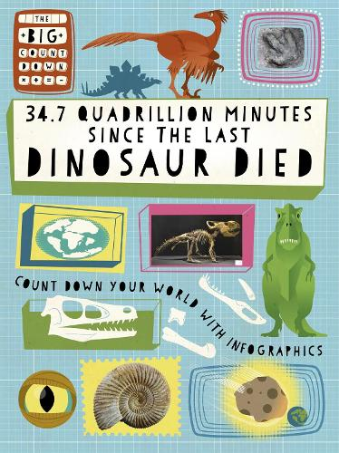 The Big Countdown: 34.7 Quadrillion Minutes Since the Last Dinosaurs Died - The Big Countdown (Hardback)