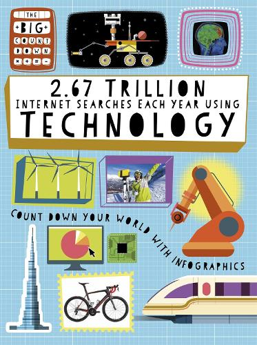 The Big Countdown: 2.67 Trillion Internet Searches Each Year Using Technology - The Big Countdown (Paperback)