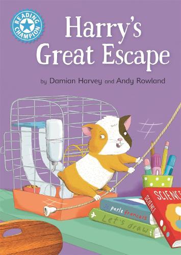 Reading Champion: Harry's Great Escape: Independent Reading Blue 4 - Reading Champion (Paperback)