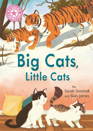 Reading Champion: Big Cats, Little Cats: Independent Reading Pink 1B Non-fiction - Reading Champion (Hardback)