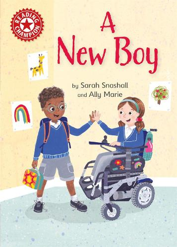 Reading Champion: A New Boy: Independent Reading Non-fiction Red 2 - Reading Champion (Paperback)