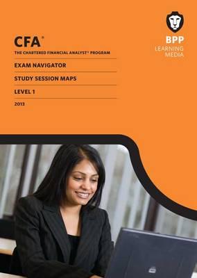 CFA Navigator - Study Session Maps Level 1: Study Session Maps (Paperback)
