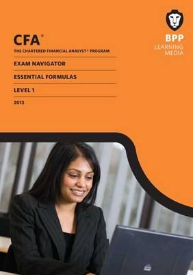 CFA Navigator - Essential Formulas Level 1: Essential Formula (Paperback)