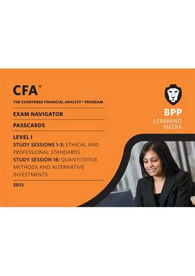 CFA Navigator - Passcards Level 1: Passcards (Spiral bound)