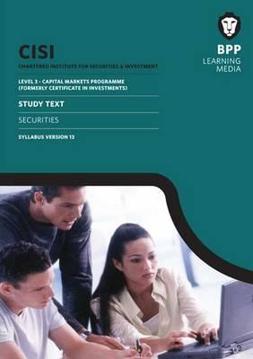 CISI Capital Markets Programme Securities Syllabus Version 13: Study Text (Paperback)