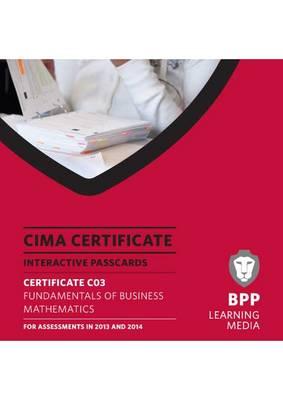 CIMA - Fundamentals of Business Mathematics: Interactive Passcards (CD-ROM)