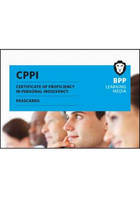 Certification of Proficiency in Personal Insolvency Passcards: Passcards (Spiral bound)