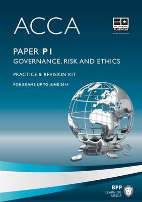 ACCA - P1 Governance, Risk and Ethics: Revision Kit (Paperback)