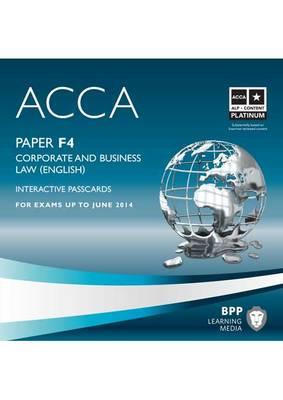 ACCA - F4 Corporate and Business Law (English): Interactive Passcard (CD-ROM)