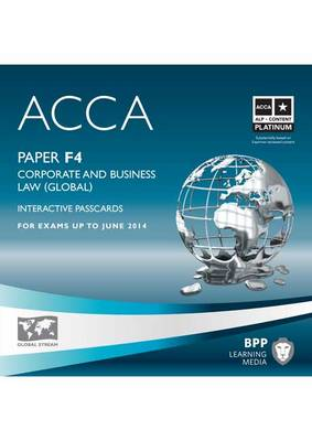 ACCA - F4 Corporate and Business Law (Global): Interactive Passcard (CD-ROM)