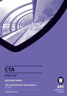 CTA Individuals FA2013: Study Text (Paperback)