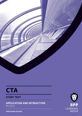CTA Application and Interaction FA2013: Study Text (Paperback)