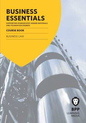 Business Essentials Business Law: Study Text (Paperback)