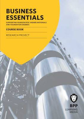 Business Essentials Research Project: Study Text (Paperback)