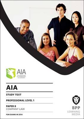 AIA 8 Company Law: Study Text (Paperback)