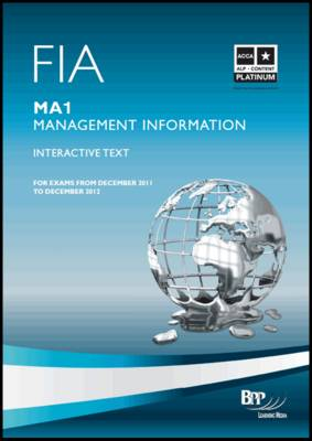 FIA - Management Information MA1: MA1: Study Text (Paperback)
