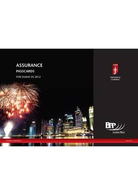 ICAEW - Assurance Passcard 2012: Passcards (Spiral bound)