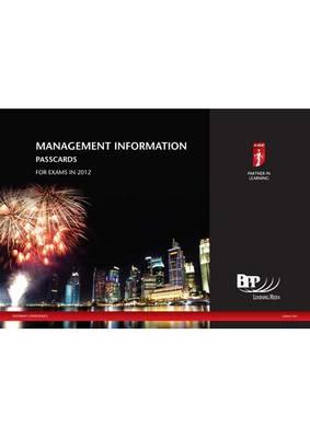 ICAEW - Management Information Passcard 2012: Passcards (Spiral bound)