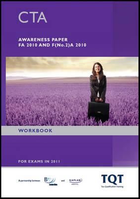 CTA - Awareness Paper - Workbook: Workbook (Paperback)