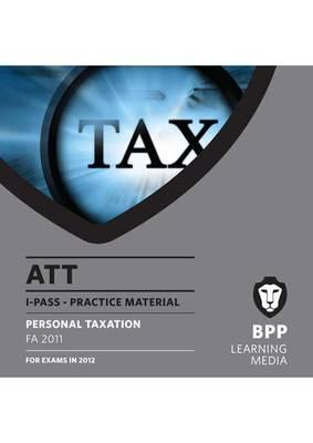 ATT - Paper 1 - Personal Taxation: i-Pass (CD-ROM)