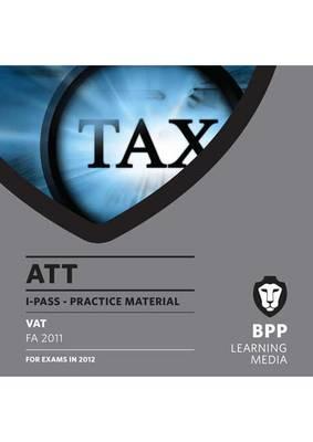 ATT - Paper 6 - VAT: i-Pass (CD-ROM)