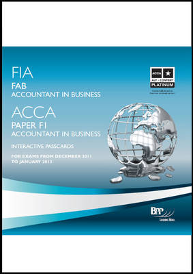 FIA Foundations of Accounting in Business - FAB Interactive Passcards 2011: Interactive Passcards (CD-ROM)