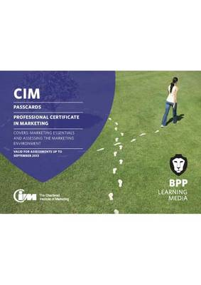 CIM Professional Certificate Level: Passcards (Spiral bound)