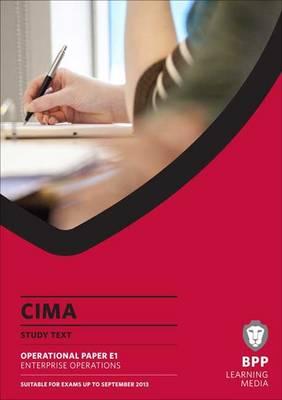 CIMA - Enterprise Operations: Study Text (Paperback)