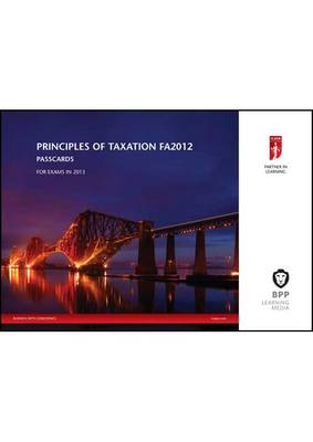 ICAEW - Principles of Taxation: Passcards (Spiral bound)