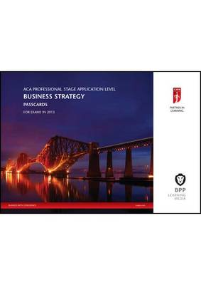ICAEW - Business Strategy: Passcards (Spiral bound)