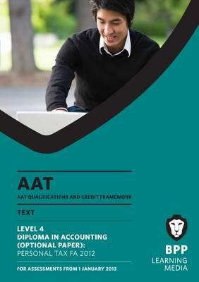 AAT - Personal Tax FA2012: Study Text (L4O) (Paperback)