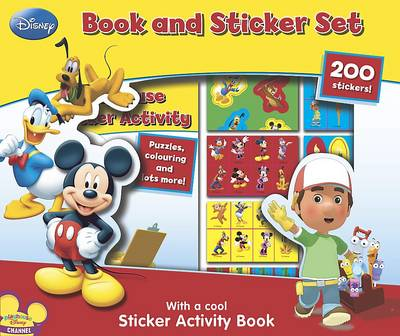 Disney Playhouse 200 Sticker Book Box