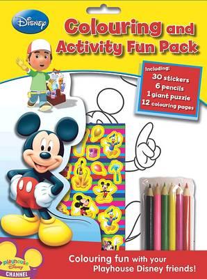 Disney Playhouse Colouring and Activity Fun Bag