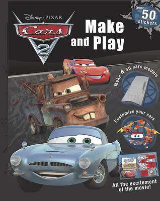 Cars 2 Make and Play (Spiral bound)