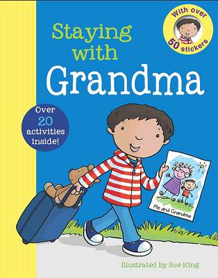 First Experience Sticker Book - Grandma
