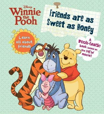 Winnie the Pooh - Friends are as Sweet as Honey (Board book)