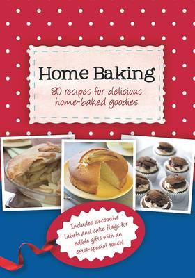 Gift Tag Cookbook - Home Baking (Spiral bound)